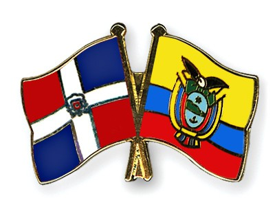 Crossed Flag Pins Dominican-Republic-Ecuador