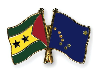 Crossed Flag Pins Sao-Tome-and-Principe-Alaska