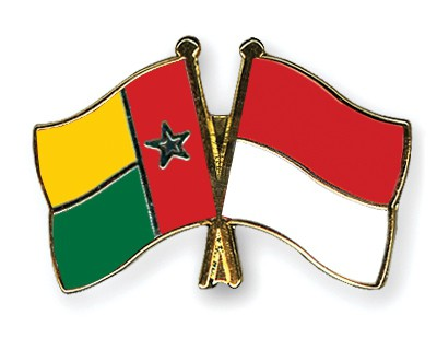 Crossed Flag Pins Guinea-Bissau-Indonesia