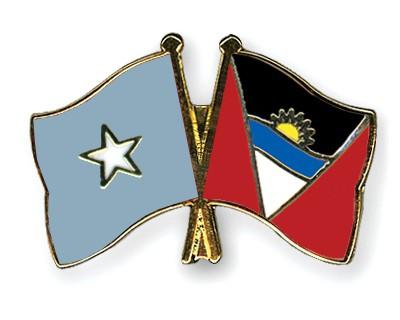Crossed Flag Pins Somalia-Antigua-and-Barbuda