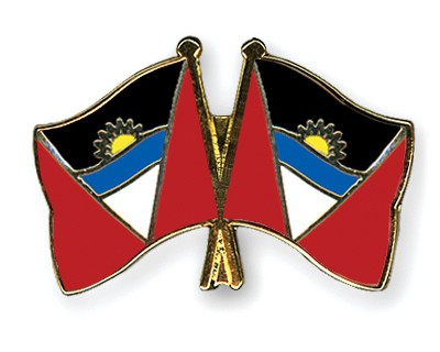 Crossed Flag Pins Antigua-and-Barbuda-Antigua-and-Barbuda