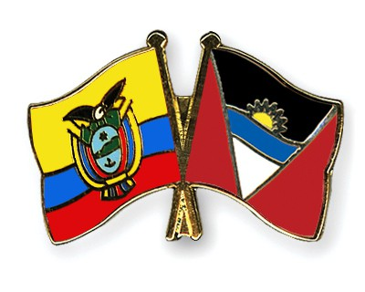 Crossed Flag Pins Ecuador-Antigua-and-Barbuda