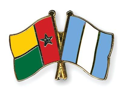 Crossed Flag Pins Guinea-Bissau-Guatemala