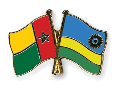 Crossed Flag Pins Guinea-Bissau-Rwanda