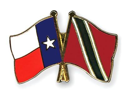 Crossed Flag Pins Texas-Trinidad-and-Tobago