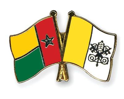 Crossed Flag Pins Guinea-Bissau-Vatican-City