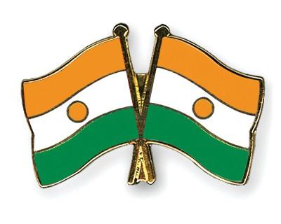 Crossed Flag Pins Niger-Niger