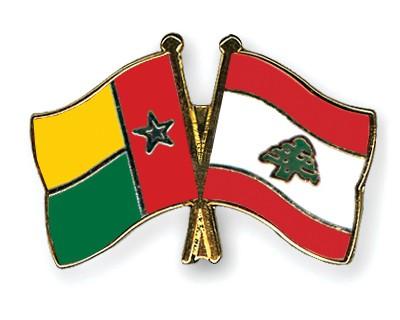 Crossed Flag Pins Guinea-Bissau-Lebanon