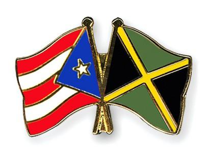 Crossed Flag Pins Puerto-Rico-Jamaica