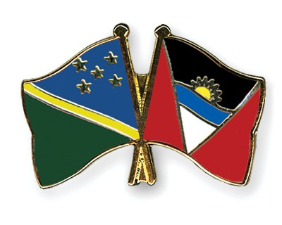 Crossed Flag Pins Solomon-Islands-Antigua-and-Barbuda