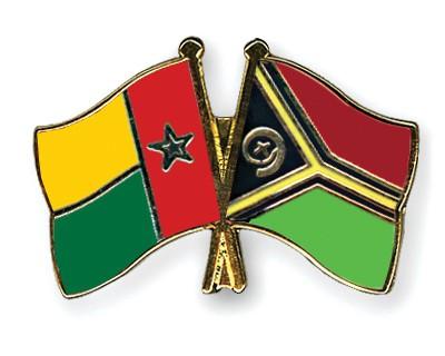 Crossed Flag Pins Guinea-Bissau-Vanuatu