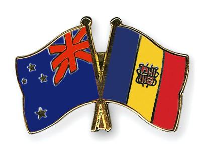 Crossed Flag Pins New-Zealand-Andorra