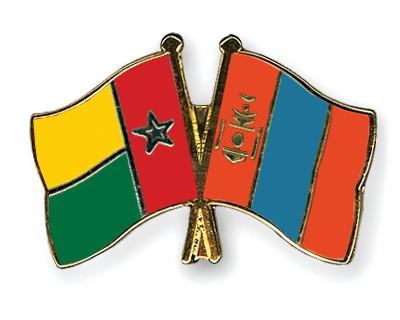 Crossed Flag Pins Guinea-Bissau-Mongolia