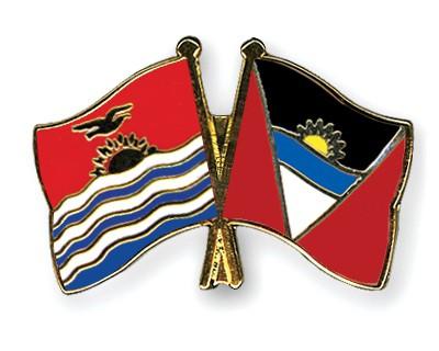 Crossed Flag Pins Kiribati-Antigua-and-Barbuda