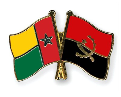 Crossed Flag Pins Guinea-Bissau-Angola