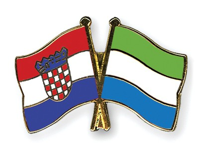 Crossed Flag Pins Croatia-Sierra-Leone