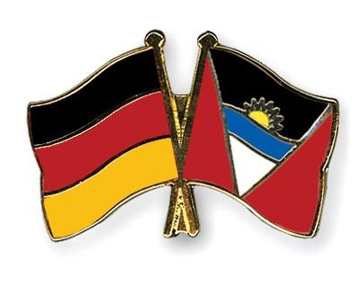 Crossed Flag Pins Germany-Antigua-and-Barbuda
