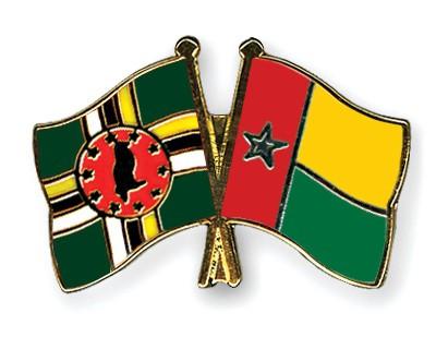Crossed Flag Pins Dominica-Guinea-Bissau