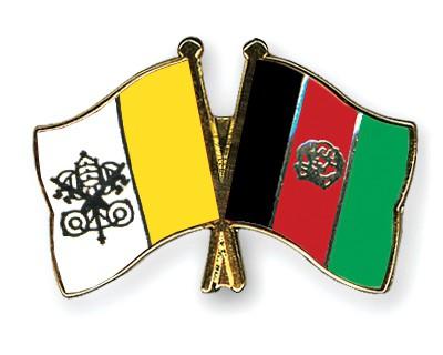 Crossed Flag Pins Vatican-City-Afghanistan