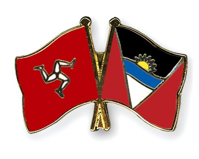 Crossed Flag Pins The-Isle-of-Man-Antigua-and-Barbuda
