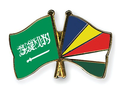 Crossed Flag Pins Saudi-Arabia-Seychelles