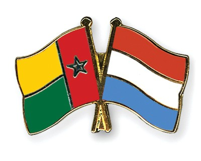 Crossed Flag Pins Guinea-Bissau-Luxembourg