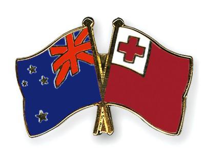 Crossed Flag Pins New-Zealand-Tonga