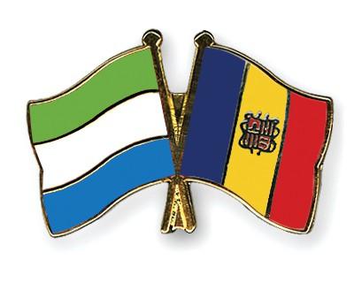 Crossed Flag Pins Sierra-Leone-Andorra