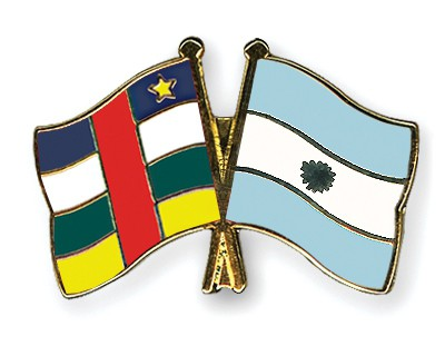 Crossed Flag Pins Central-African-Republic-Argentina