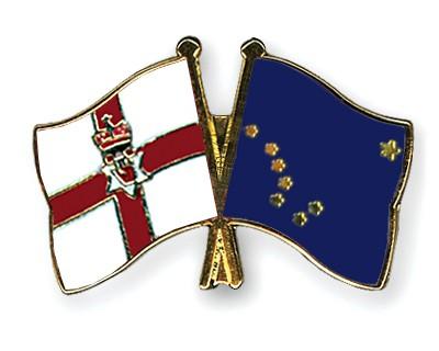 Crossed Flag Pins Northern-Ireland-Alaska