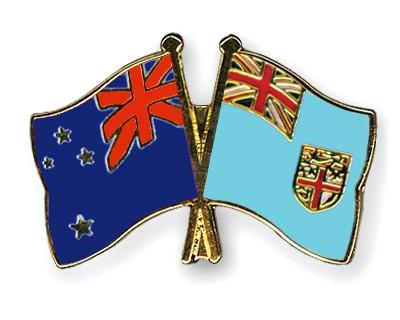 Crossed Flag Pins New-Zealand-Fiji