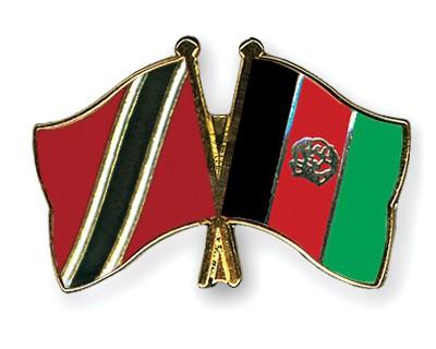 Crossed Flag Pins Trinidad-and-Tobago-Afghanistan