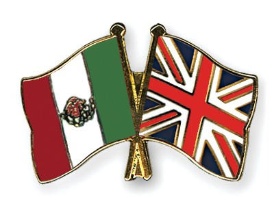 UK /& MEXICO Mexican FRIENDSHIP Flag Metal Lapel Pin Badge Great Britain