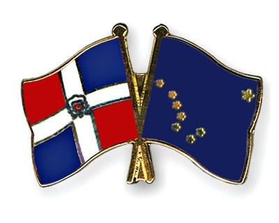 Crossed Flag Pins Dominican-Republic-Alaska