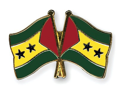 Crossed Flag Pins Sao-Tome-and-Principe-Sao-Tome-and-Principe