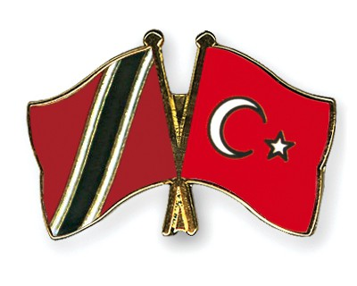 Crossed Flag Pins Trinidad-and-Tobago-Turkey