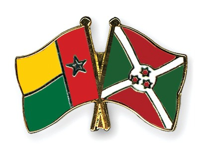 Crossed Flag Pins Guinea-Bissau-Burundi
