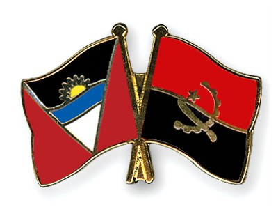Crossed Flag Pins Antigua-and-Barbuda-Angola