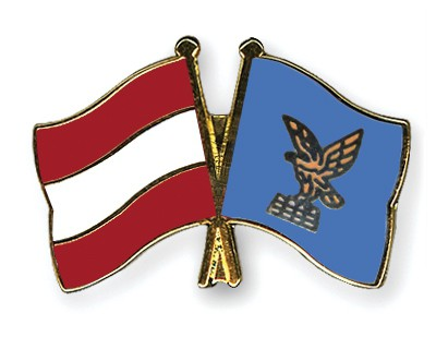 Special Offer Crossed Flag Pins Austria-Friuli-Venezia-Giulia