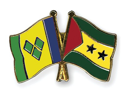 Crossed Flag Pins Saint-Vincent-and-the-Grenadines-Sao-Tome-and-Principe