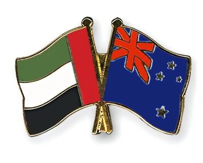 Crossed Flag Pins United-Arab-Emirates-New-Zealand
