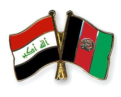 Crossed Flag Pins Iraq-Afghanistan