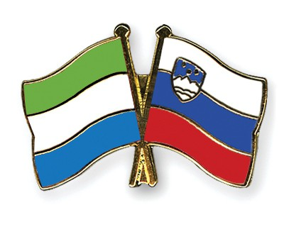 Crossed Flag Pins Sierra-Leone-Slovenia