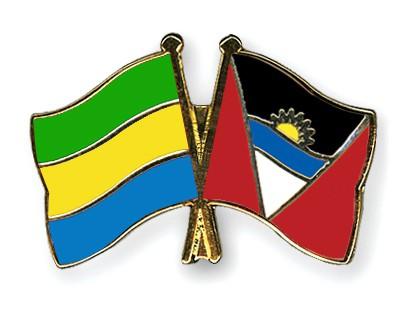 Crossed Flag Pins Gabon-Antigua-and-Barbuda