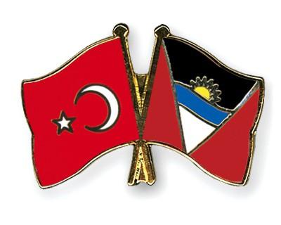 Crossed Flag Pins Turkey-Antigua-and-Barbuda