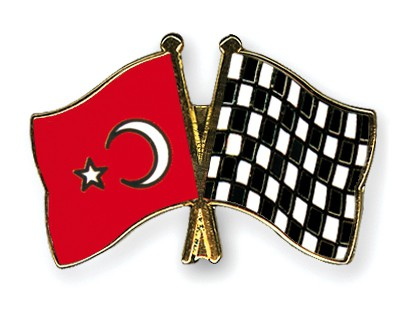 Crossed Flag Pins Turkey-Flag-checkered-black-and-white