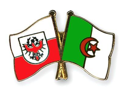Crossed Flag Pins Tyrol-Algeria