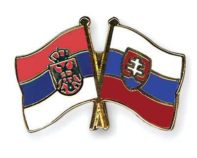 Crossed Flag Pins Serbia-without-Crest-Slovakia