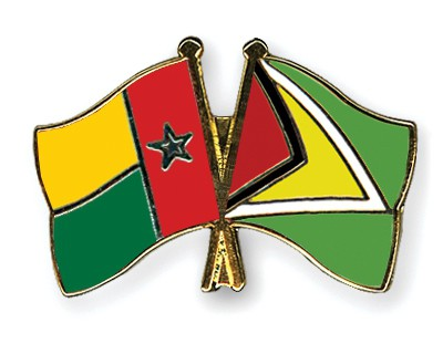 Crossed Flag Pins Guinea-Bissau-Guyana