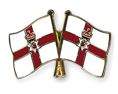 Crossed Flag Pins Northern-Ireland-Northern-Ireland